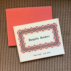 Vtg Bargello Magic & Bargello Borders Needlepoint